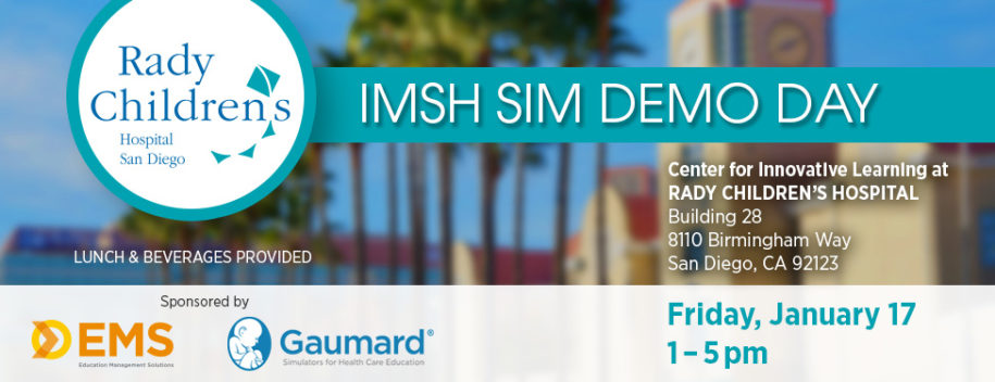 Rady Children's Hospital demo day at IMSH 2020