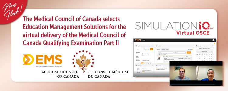 Medical Council of Canada Selects Education Management Solutions