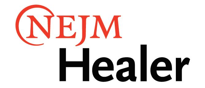 NEJM Healer Logo