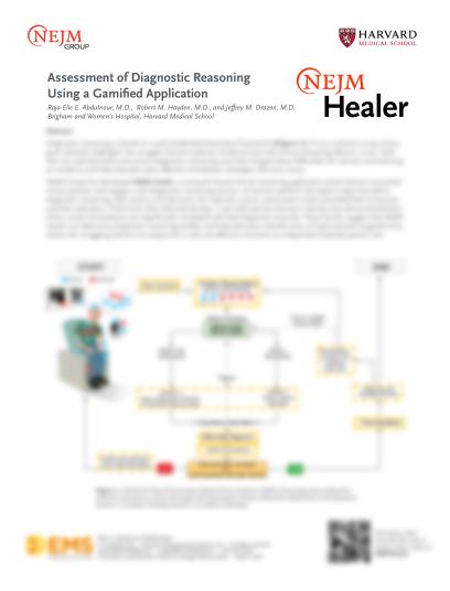 Healer Assessment Diagnostic Reasoning Thumb