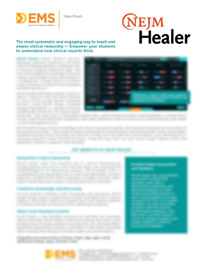 Healer Data Sheet Thumb